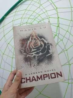 Champion - Legend Novel