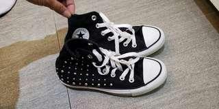 converse All star 女童鞋 高筒 35號
