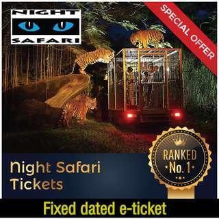 Night Safari 😍 $30 Adult