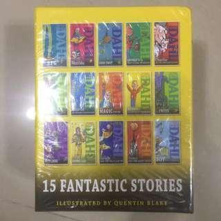 🚚 [Jan 19] Roald Dahl Series of 15 Fantastic Stories