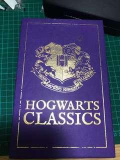 英國帶回 哈利波特 Harry Potter 霍格華茲圖書館 穿越歷史的魁地奇 皮陀吟遊詩人故事集