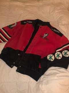 Vintage Red Bomber