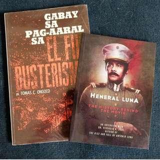 !! SET !! Heneral Luna & El Fili Reviewer
