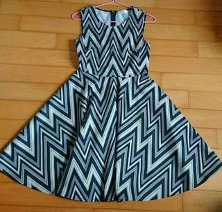 Pattern dress (hk brand)
