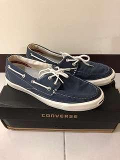 Converse帆船鞋(藍)