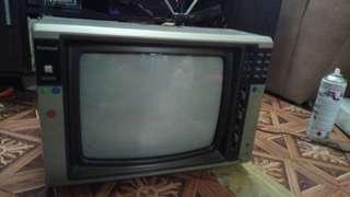 National Tv Vintage for Display