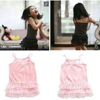 H&M 100% cotton dress size 3,4,5 $15, clearance $10 (PINK ONLY)