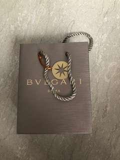 Bvlgari small paper bag