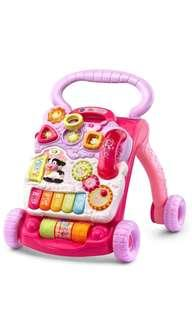 🚚 ~Ready Stocked~ VTech Sit to Stand Walker, Pink