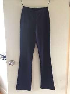 Stretchy navy pants