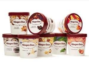 Haagen Dazs Ice Cream Pint