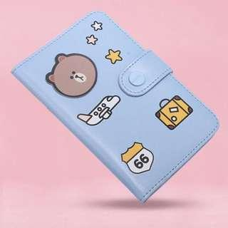 (Ready stocks) Line friends passport holder