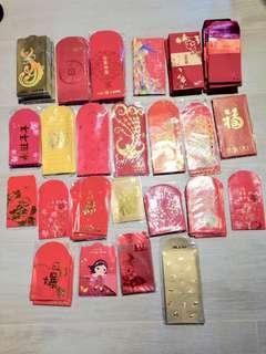 610個【利是封 利士封 利事封 紅包 信封】red RED pocket bag 原價約 $2,500