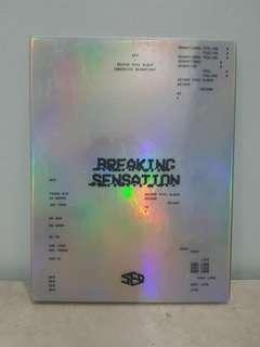 WTS SF9 2ND MINI ALBUM BREAKING SENSATION