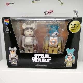 Disney Star Wars x Bearbrick Rey BB8 combo pack toy figure