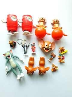 Disney Assorted Lot of Tom & Jerry Bundle Toys