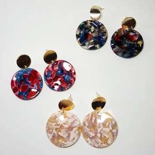 Vintage Colourful Earrings