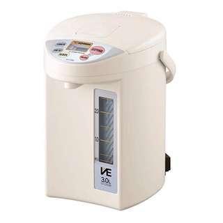 日本象印 Zojirushi 真空保溫節電熱水瓶 Water Boiler CV-CSQ30-CL