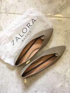 Zalora Nude Flats