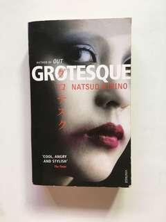 Grotesque (Crime Novel) by Japanese writer Natsuo Kirino