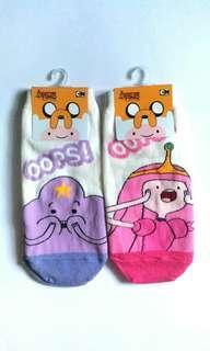 [NEW] Original CN Adventure Time Adult Socks #maups4
