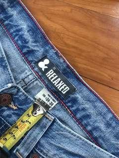 Men's Jeans 洗水牛仔褲