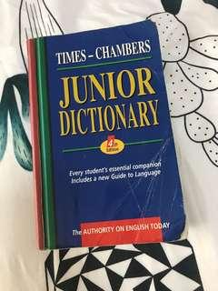 TIME-CHAMBERS Junior Dictionary 4th Edition