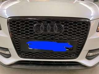 Audi B8 front grill