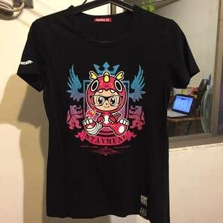 【今日轉帳優惠$200】急售潮牌Stayreal 女版 中性 短袖T恤上衣 黑色M號