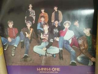 Wanna One Nothing without you poster