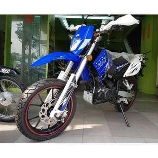 Demak DTM 200 Scrambler Offer Dp Loan Kedai RM 450 - ic only #JomCkMotor