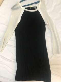 F21 swearer dress