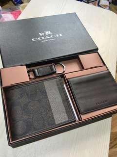 Coach Wallet Set with box