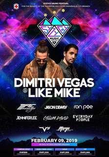 VIP Syzygy Music Festival (Dimitri Vegas & Like Mike)