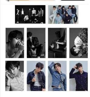 🚚 BTS  Fake Love Lomo Cards