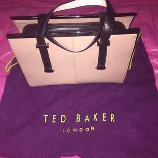 Ted Baker Harpel Metal Bar Colourblock Tote