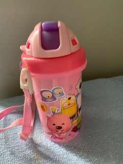 Pororo water bottle