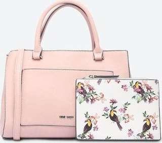 Nine West Nelida pink bag
