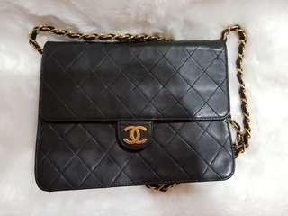 Vintage black Chanel sling bag