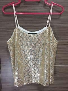 Forever 21 shiny top