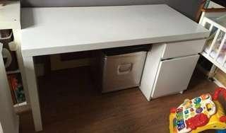 IKEA Malm Table White