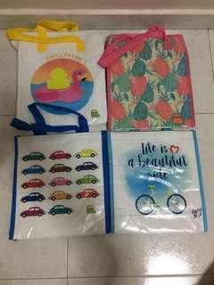 BN Nutri Soy/Peel  Fresh/Marigold Cooler Bag(4pcs@$5)