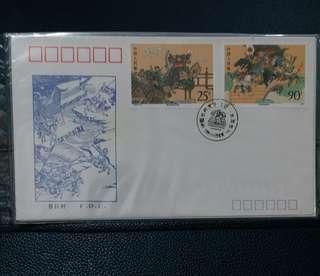1991 水滸傳 首日封兩套