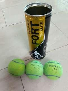 Tennis balls (3pcs) Used