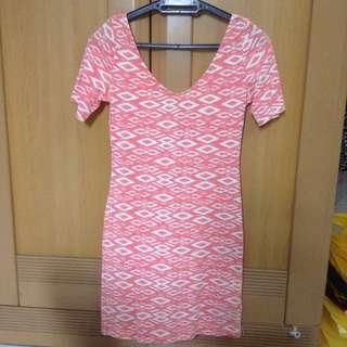 H&M bodycon dress #CNY888