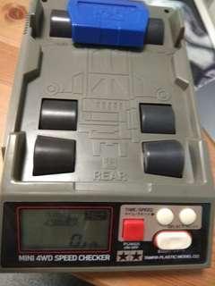 Mini 4wd speed checker