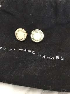 Marc Jacobs gold earrings
