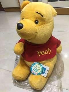 """2000年代絕版13.5""""小熊維尼公仔 winnie the pooh doll"""