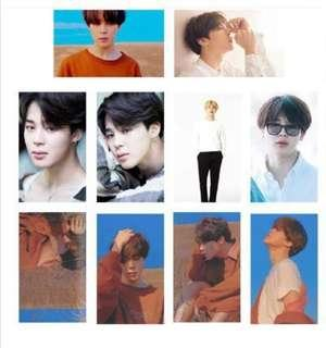 🚚 BTS Jimin Fake Love Lomo Cards