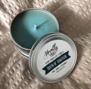 Book themed Candles 8Oz and 2Oz